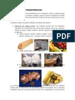 Parte del proceso de fabricación (Conceptos)