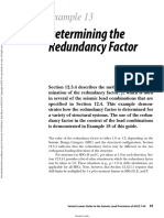 Determining the Redundancy Factor