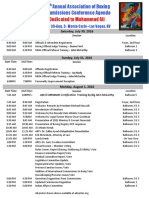 28th Annual Agenda of the Association of Boxing Commissions