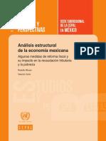 Analisis Estructural de La Economia Mexicana