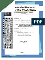 Monografia de Paracas