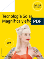 Solar Energy Catalogo 2016