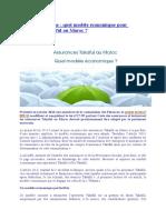 Assurance Takafaul Et Modèle Économique d'Implémentation