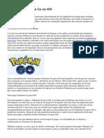 Conseguir Pokemon Go en iOS