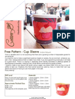 Cup Sleeve Tutorial