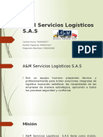 A&M Servicios Logísticos - Presentación