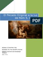 Ensayo Final Antropologia Teologica 2016