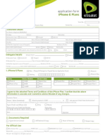 IPhone6 Application Form