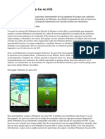 Descargar Pokemon Go en iOS