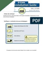 Manual Roteador Modem D-Link 2730b