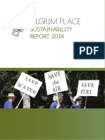 Pilgrim Place Sustainability Report