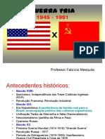 Guerra Fria - Professor Fabrício Mesquita