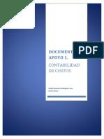 Documento Guia y Apoyo Contabilidad de Costos