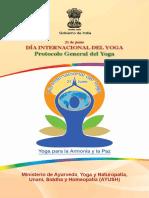 Common Yoga Protocol (Spanish)