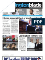 washblade.com – vol. 41, issue 22 – May 28, 2010