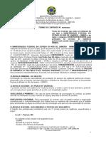 Modelo de Contrato - Servico de Vigilancia