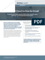 Ds Cloud Archive for Email 2