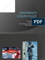 Emergency in Burn Injury