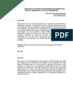 Programas Informaticos Desarrollo Econometria