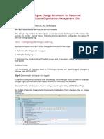 Infotype Log Creation