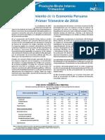 Informe Tecnico n02 Pbi Trimestral 2016i c19e76563bc