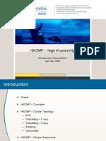 HACMP – High Availability