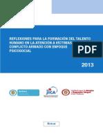 Lectura, 4. Reflexiones Para La Formacion Psicosocial, 2013.