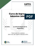 cuadernillo_LaUniversidadenlaArgentinaIUPFA-2016