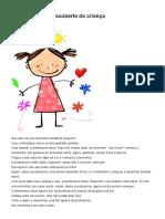 Mensagem - A Descoberta Da Criança - Projetos Pedagógicos Dinâmicos