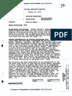 Los documentos de la dictadura que entregó Estados Unidos Parte 1