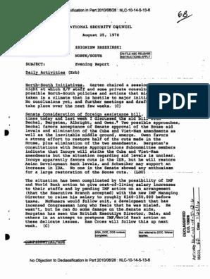 Los documentos de la dictadura que entregó Estados Unidos