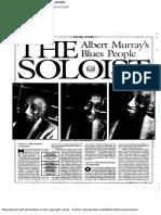 Albert Murray's the Soloist by Joe Wood