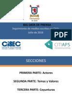 Big Data Julio 2016