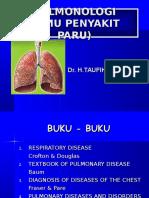 Kuliah TB Paru oleh Prof Dr H. Taufik Sp.P(K)