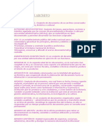 Terminos de Archivo