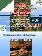 Cultivo, Beneficio y Procesamiento Del Cacao Julio 25