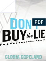 Dont Buy the Lie by Gloria Copeland