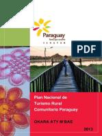 Plan Nacional de Turismo Rural Comunitario