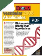 Vestibular Atualidades Biotecnologia Fascículo 11