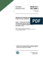 IRAM 15 (AQL)