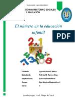 01 El Numero en La Educacion Infantil 10-05