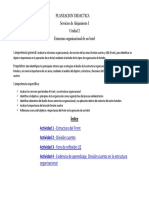 Planeación Didactica Unidad 2