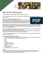 Organic Veggie Gardening