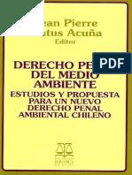 Derecho Penal Del Medio Ambiente - Jean Pierre Matus a(1)