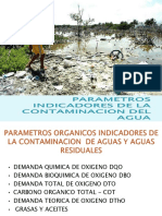 parametrosindicadoresdelacontaminacindelagua-140115144807-phpapp01