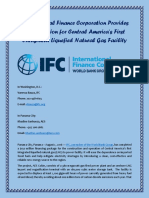 International Finance Corporation Provides $150 Million for Central America's First Integrated Liquefied Natural Gas Facility