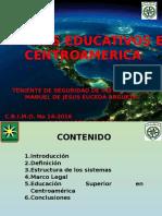 Sistemas de Educación en Centroamerica