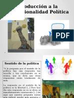 1 Introducción a la Institucionalidad Política Chilena