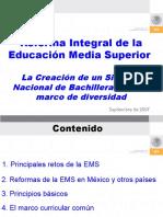 Sistema Nacional de Bachillerato SEP