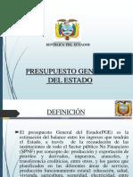 poltica econmica presuesto del estado ecuador